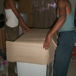 Bajrang Packers And Movers Packaging Process Step 1